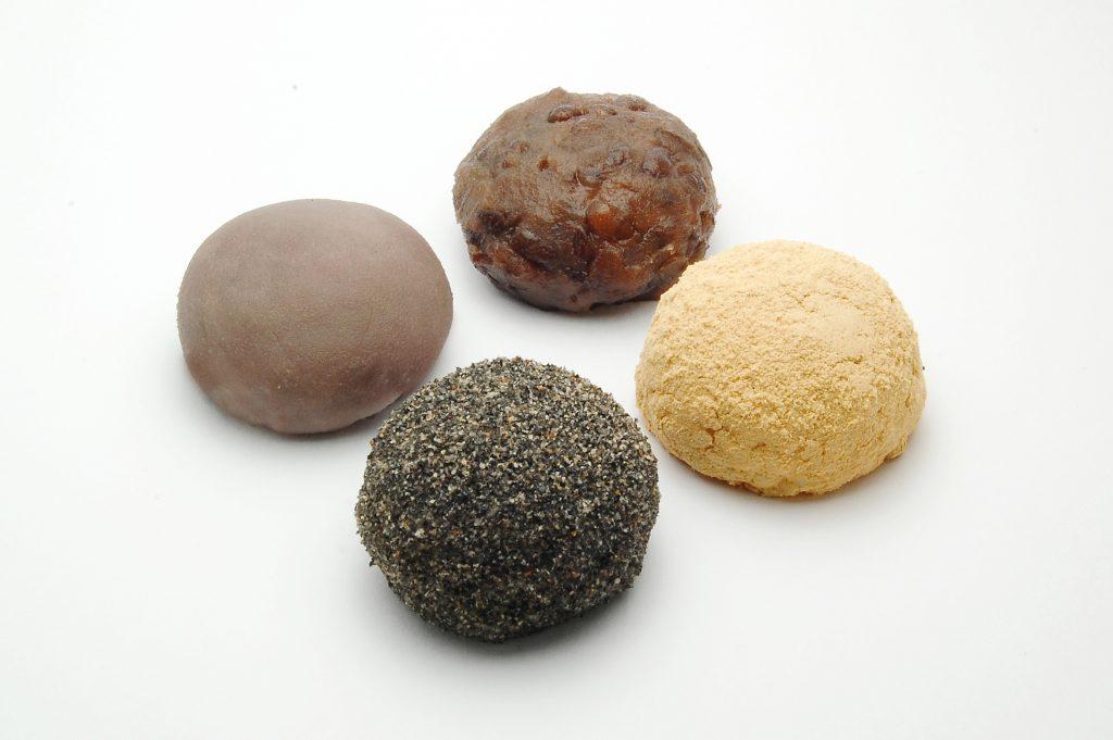 牡丹餅 おはぎ 手作り 職人 川越 和菓子 つぶ こし きなこ ごま