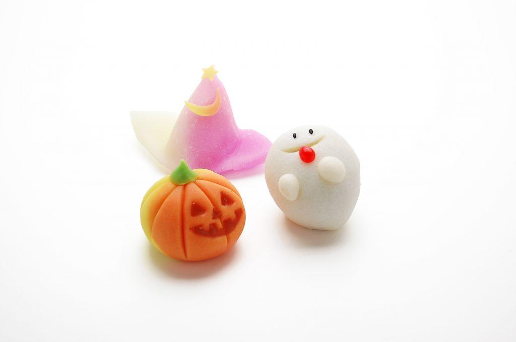ハロウィン ジャックオーランタン かぼちゃ 上生 川越 和菓子 手作り 職人